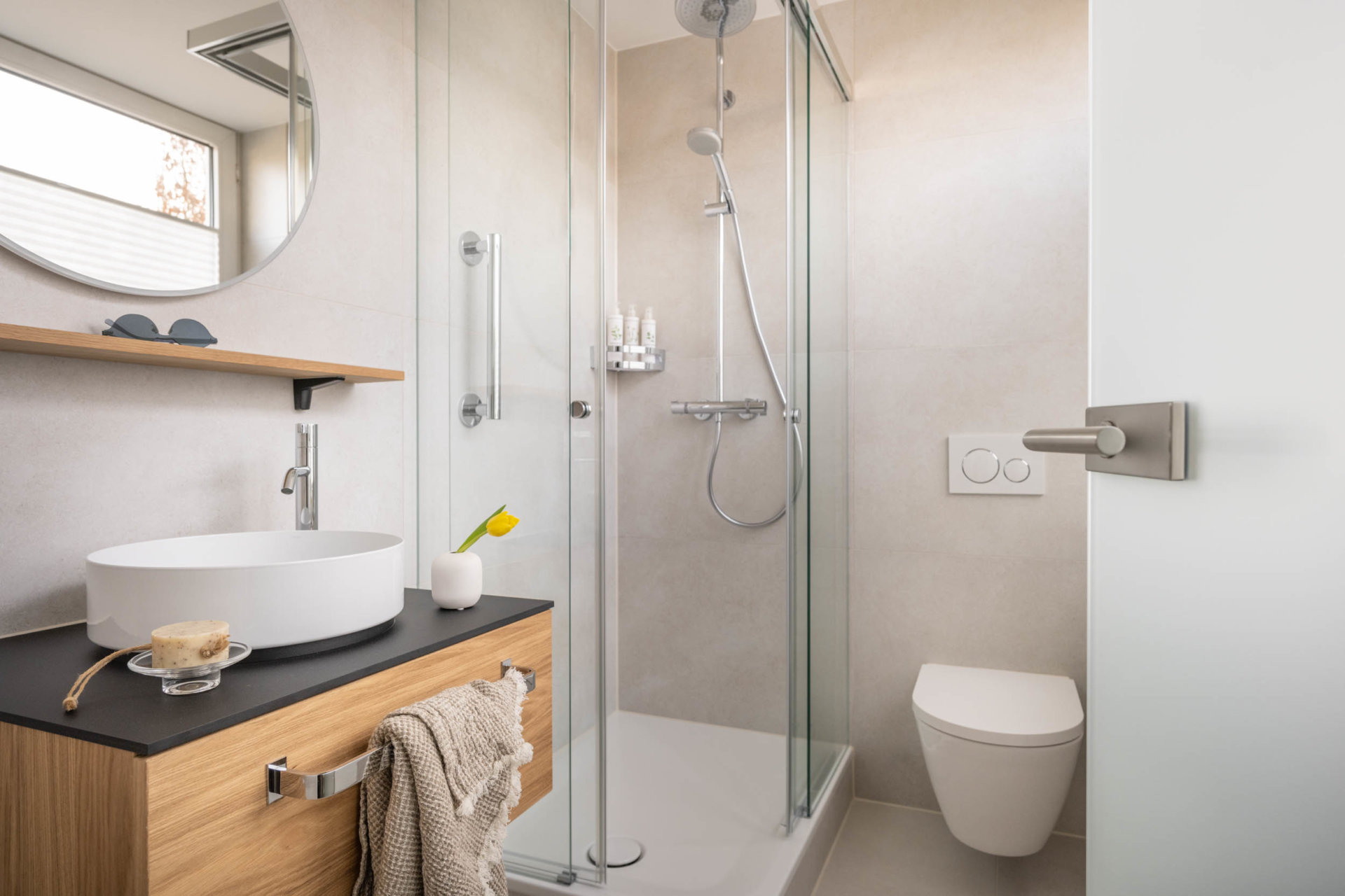 Standard Zimmer Haupthaus Badezimmer Dusche WC