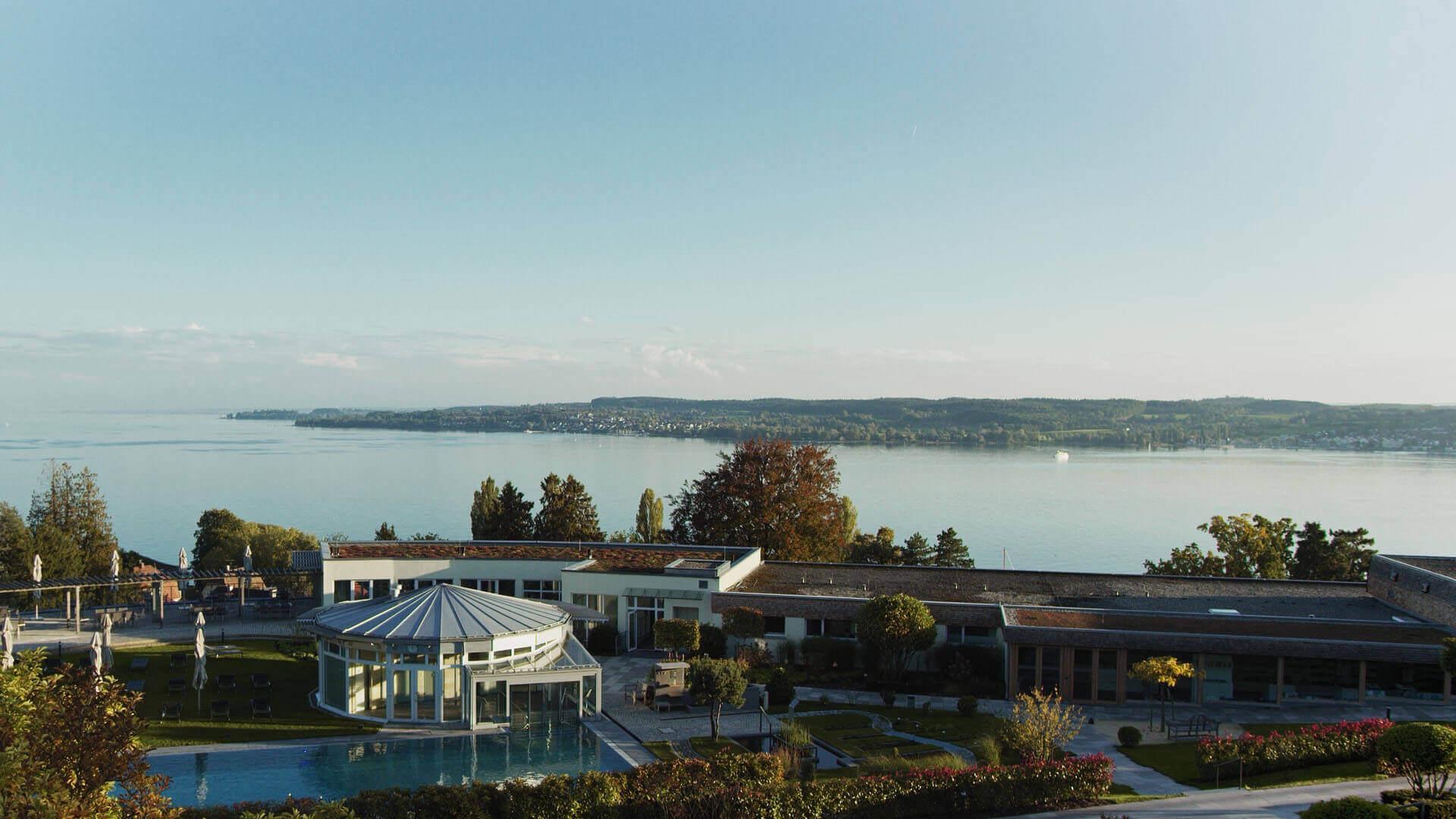 Buchinger Wilhelmi, Fasten, Heilfasten, Fasting, Health, Integrative Medicine, Pool, Lake of Constance, Bodensee, Garden, View