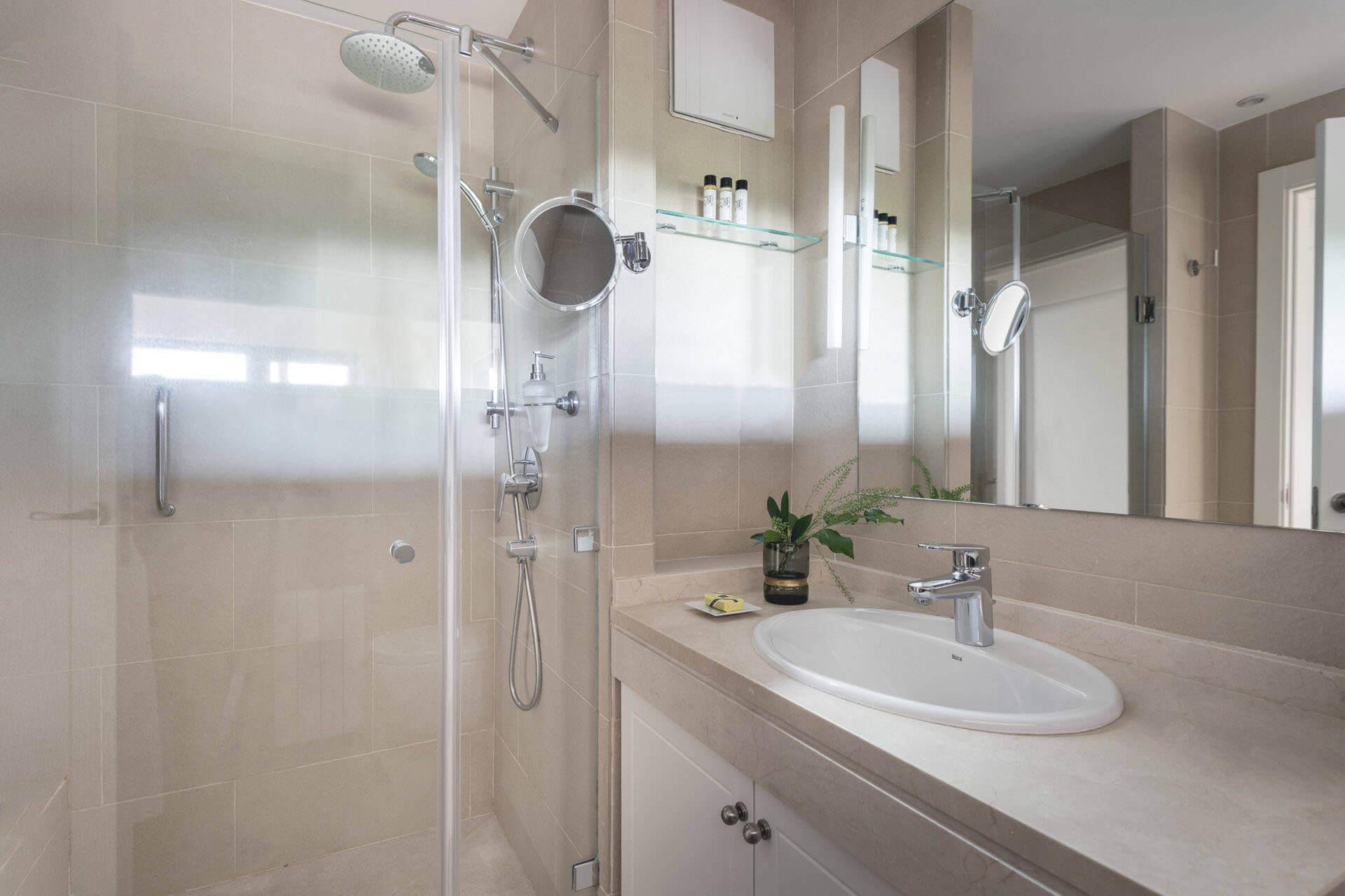 Buchinger Wilhelmi, Fasten, Heilfasten, Fasting, Health, Integrative Medicine, Comfort Room Bathroom, Marbella, Andalusia,