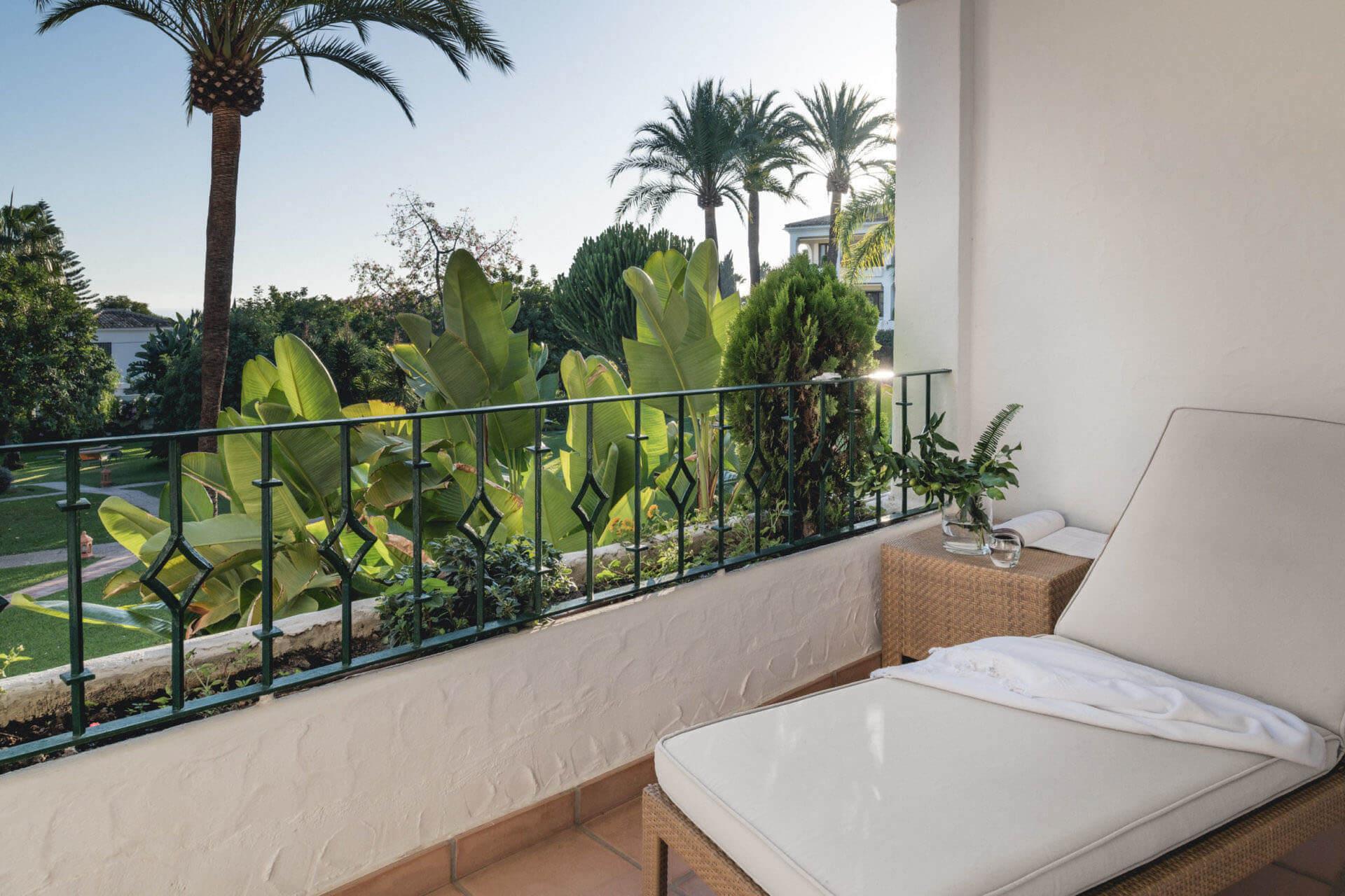Buchinger Wilhelmi, Fasten, Heilfasten, Fasting, Health, Integrative Medicine, Superior Room, Balcony, Ausstattung, Furniture, Marbella, Andalusia,
