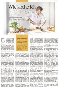 Welt am Sonntag - Wie koche ich nichts? Küchenchef Phillipp Troppenhagen