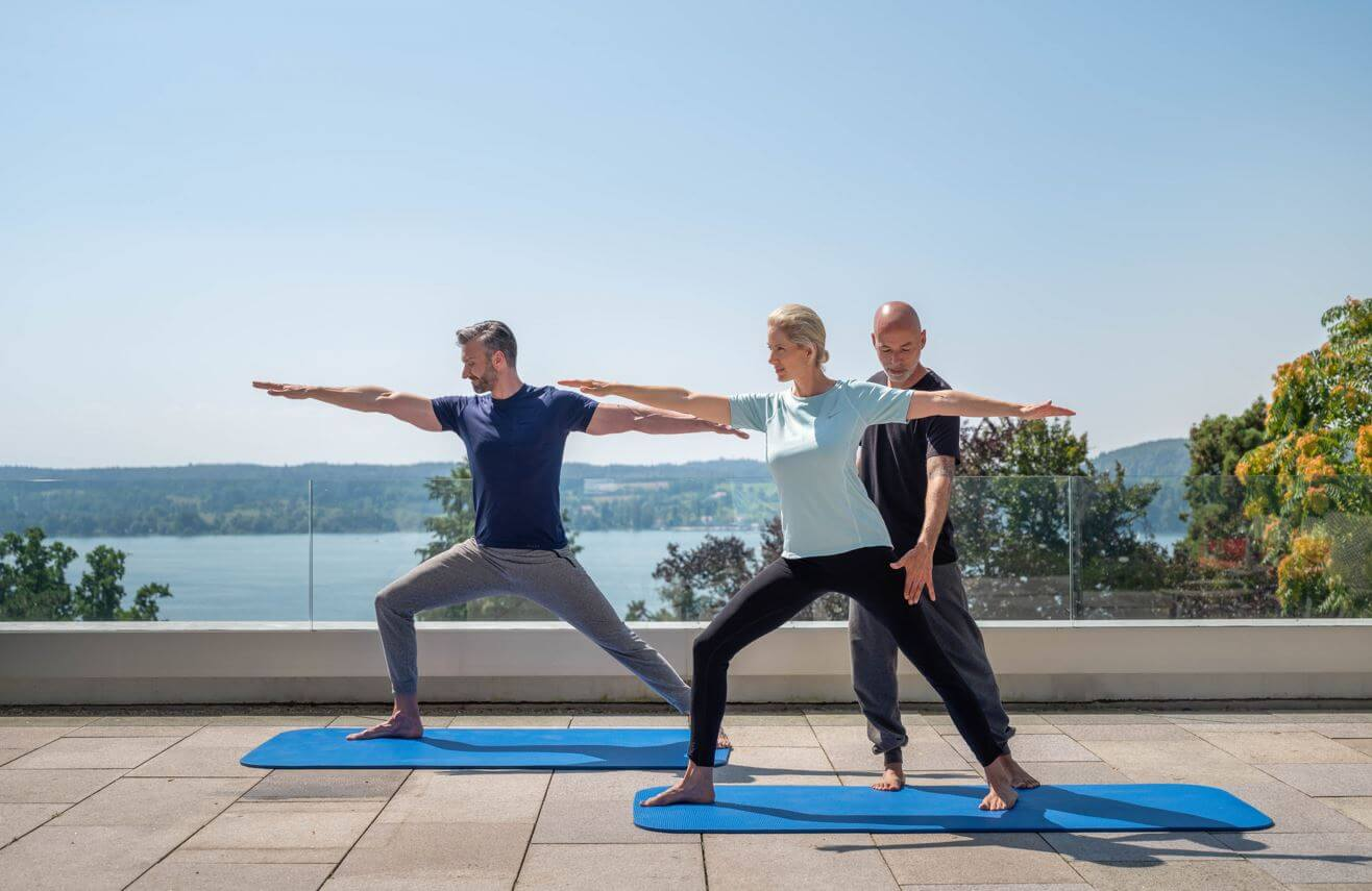 Yoga and meditation for your inner balance